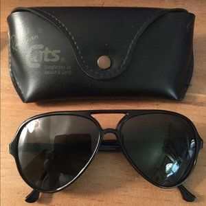Ray Ban Vintage sunglasses. Black lens and frame